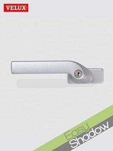 Original Velux Griff mit Sicherheitsverschluß 028401 - Sicherheits-Verschluss für VELUX Klapp-Schwing-Fenster