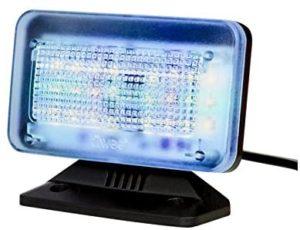 iiwee TV Simulator PowerPlus mit 24 LED's und 3 wŠhlbaren Programmen - Komplett mit Netzadapter - Lichtsimulation zum Einsatz als Einbruchschutz
